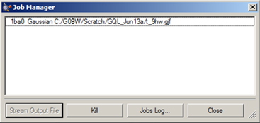 Setting Up and Running Gaussian Jobs